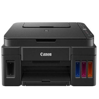 Máy in phun màu đa chức năng không dây Canon G3010