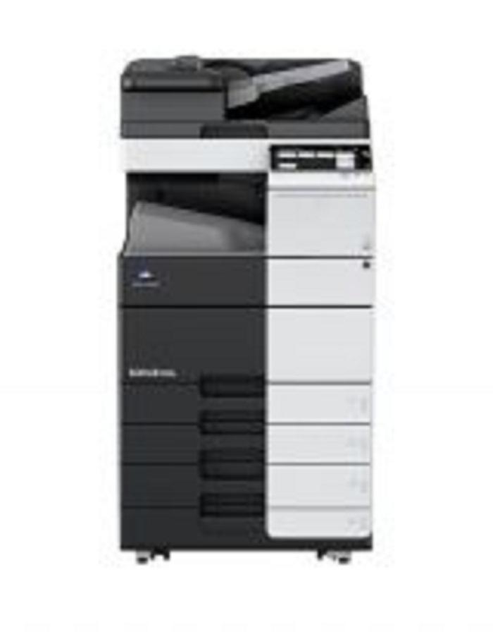 Máy photo-in-quét đen trắng Bizhub 558e