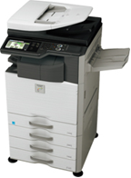Máy Photocopy kỹ thuật số AR –M460N+ DE12 (khay giấy)