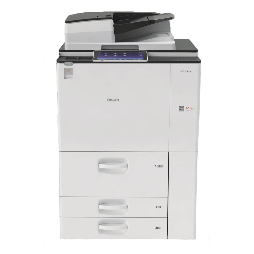 Máy Photocopy Ricoh Aficio MP 7503SP NEW 95%
