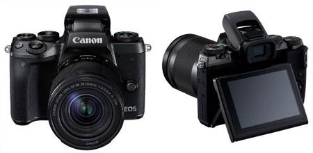 Canon ra mắt mẫu máy ảnh không gương lật dẫn đầu thị trường - EOS M5