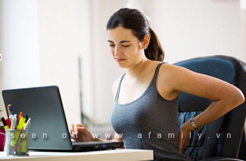 Thống kê những bệnh hay gặp của dân ngồi máy tính văn phòng